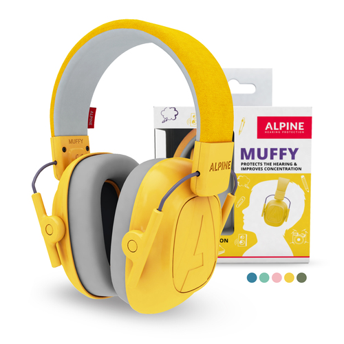 Alpine Muffy Kinder Oorkap Yellow