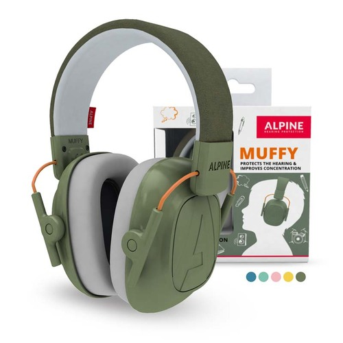 Alpine Muffy Kinder Oorkap Green