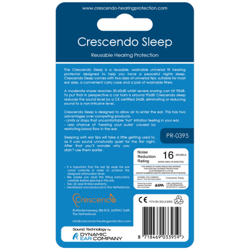 Crescendo sleep