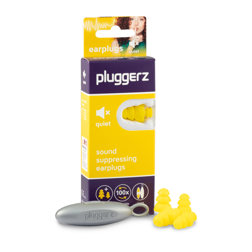 Pluggerz Earplugs Quiet