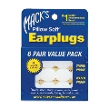 10 x Macks Earplugs Pillow Soft 60 paar